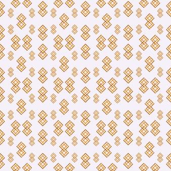 Modèle sans couture géométrique de fond de couleur jaune et orange