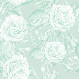 Modèle sans couture lumineux avec des fleurs. rose. illustration à l'aquarelle. dessiné à la main.