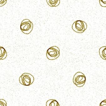 Modèle sans couture de noël de flocons de neige dessinés à la main. flocons de neige volants subtils sur fond de flocons de craie. superposition de neige dessinée à la main à la craie. décoration magnétique des fêtes de fin d'année.