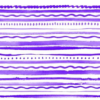 Modèle sans couture avec ornement ultra violet