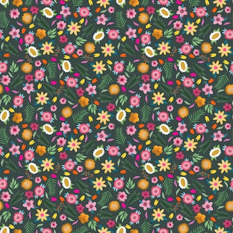 Modèle sans couture de pré en fleurs midsummer.