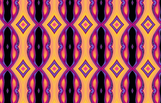 Modèle sans couture texturé coloré pour la conception et l'arrière-plan affiche d'œuvres d'art géométriques minimalistes