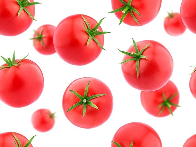 Modèle sans couture avec des tomates