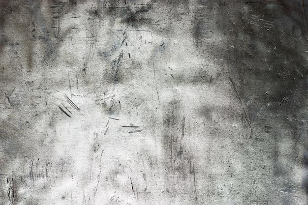 Modèle de texture en métal grunge, feuille froissée de fond en acier inoxydable
