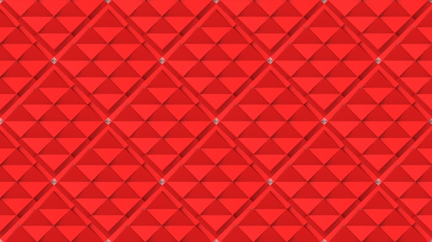 Modèle de tuile art moderne grille carré rouge sans soudure