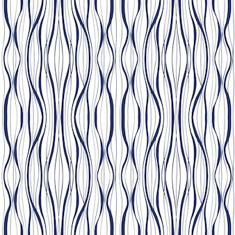 Modèle de vague abstraite sans soudure