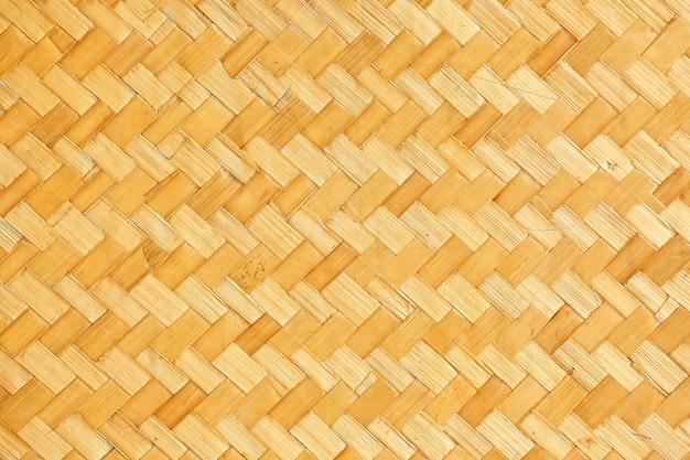 Modèle de vannerie de style thaï natif