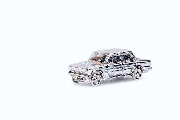 Modèle de voiture rétro en miniature