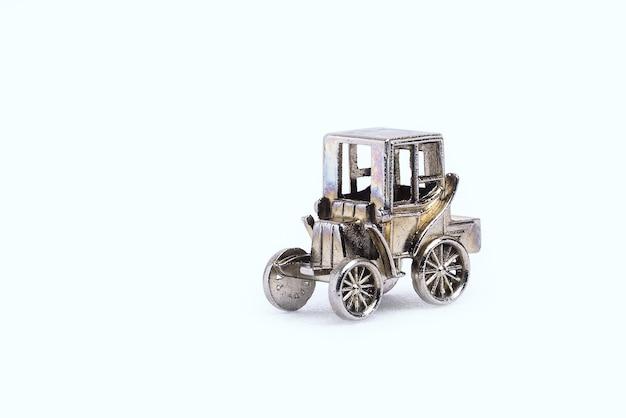 Modèle de voitures rétro en miniature