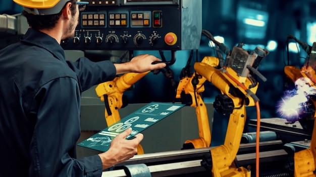 Modernisation des bras de robot de l'industrie intelligente pour une technologie d'usine innovante