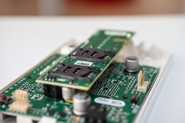 Module gsm - gprs pour les systèmes de sécurité.