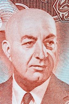 Mohammed daoud khan un portrait de l'argent afghan