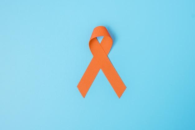 Mois de sensibilisation au cancer avec ruban
