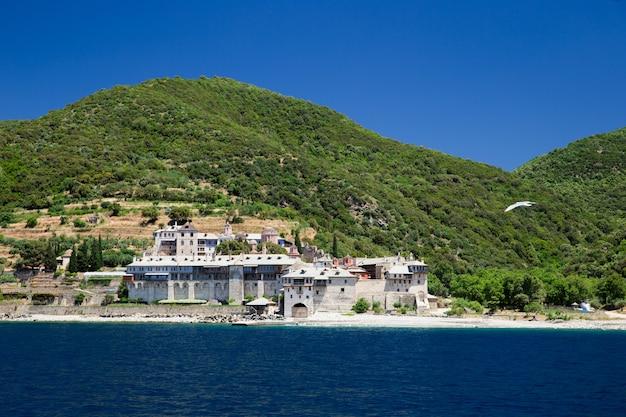 Monastère d'athos en grèce