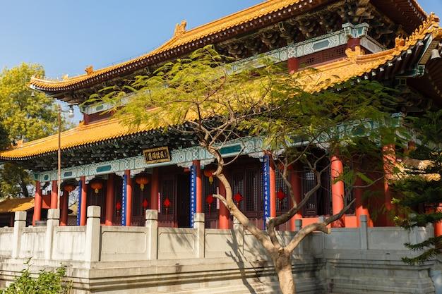 Monastère bouddhiste chinois à lumbini