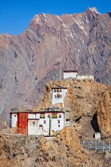 Monastère de dhankar gompa. himachal pradesh, inde