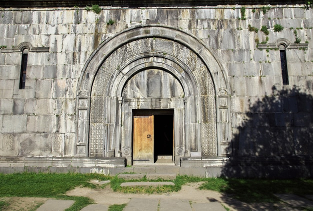 Monastère de haghpat dans les montagnes du caucase, arménie