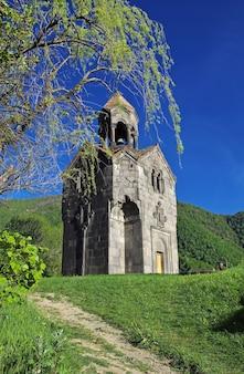 Monastère de haghpat dans les montagnes du caucase de l'arménie