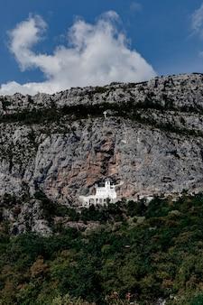 Monastère d'ostrog incroyable, monténégro
