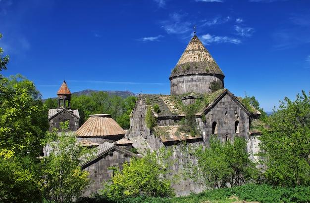 Monastère de sanahin dans les montagnes du caucase, arménie