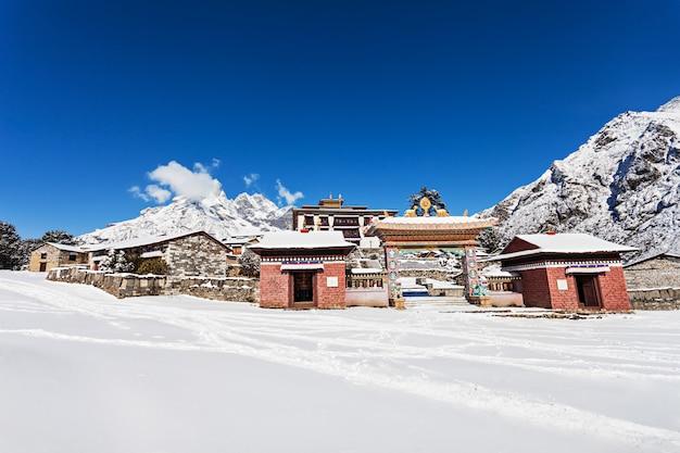 Monastère de tengboche, népal