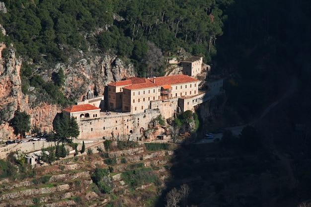 Le monastère de la vallée de kadisha, au liban