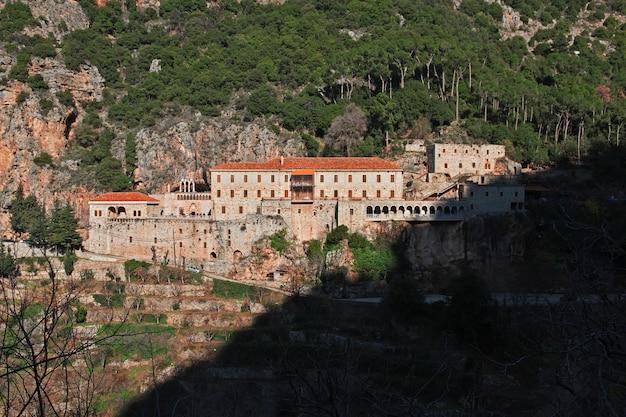 Le monastère de la vallée de kadisha, liban