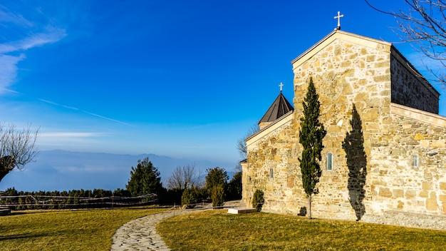 Monastère zedazeni en géorgie