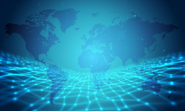 Monde des affaires networ kbackground