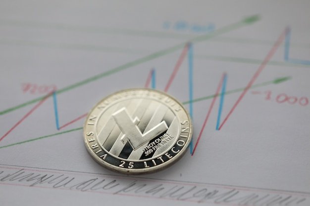 Monnaie crypto argent litecoin