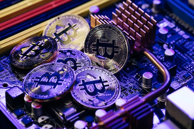 Monnaie crypto, bitcoin.