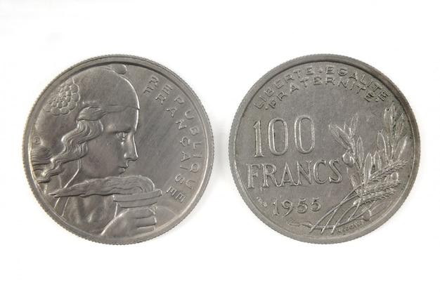 Monnaie française du xxe siècle, 100 francs, 1955