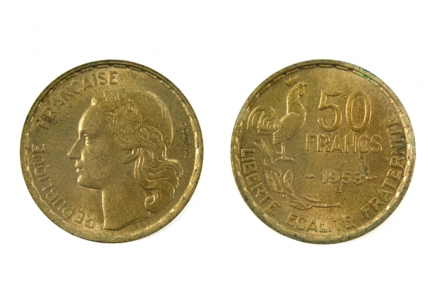 Monnaie française du xxe siècle, 50 francs, 1953