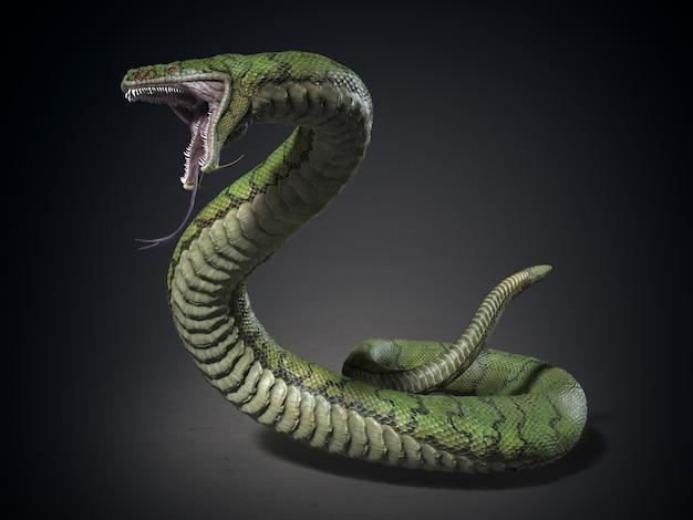 Le monstre serpent