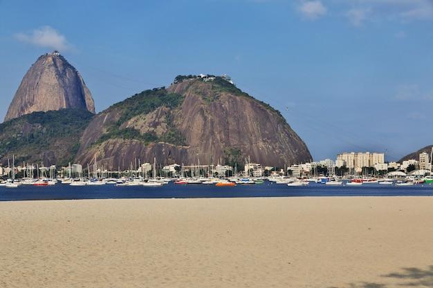 Mont du pain de sucre, rio de janeiro, brésil