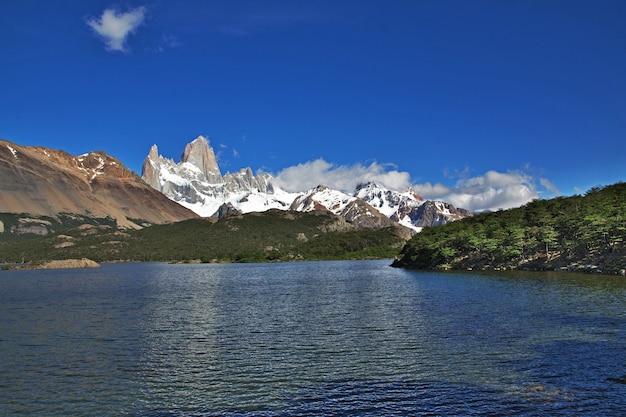 Mont fitz roy, el chalten, patagonie, argentine