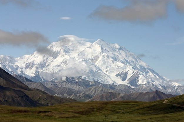 Mont nature alaska paysage mckinley