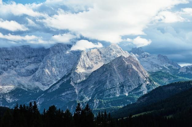 Montagne cristallo
