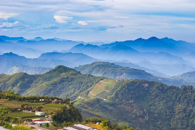 Montagne naturelle tai wan