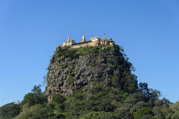Montagne popa, myanmar