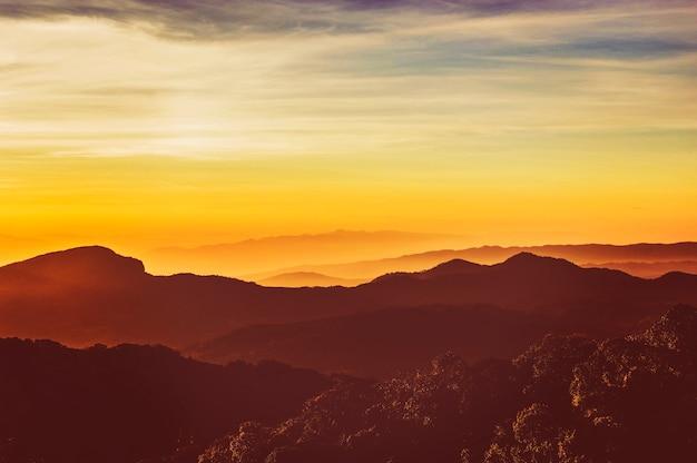 Montagne scape