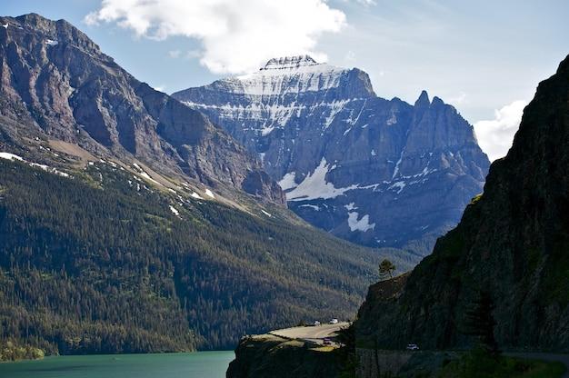 Montagnes au montana