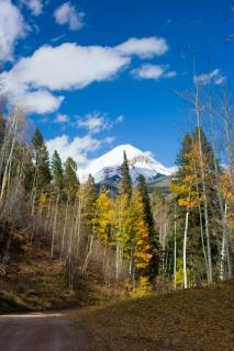 Montagnes de l'automne