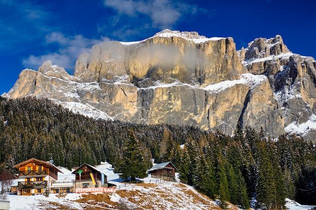 Montagnes des dolomites, italie