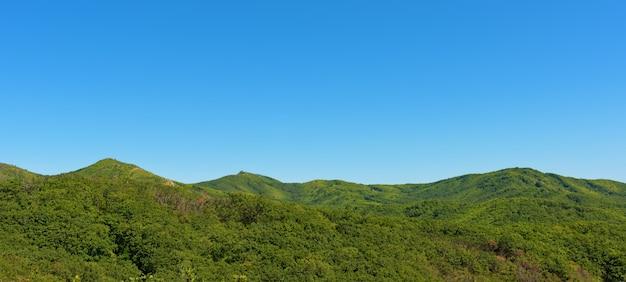 Montagnes en été