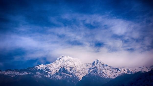Montagnes de l'himalaya, népal