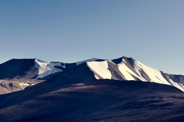 Montagnes de l'inde beau paysage