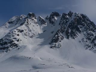 Montagnes et la neige