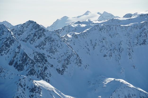 Montagnes Pittoresques Des Alpes Autrichiennes Photo gratuit