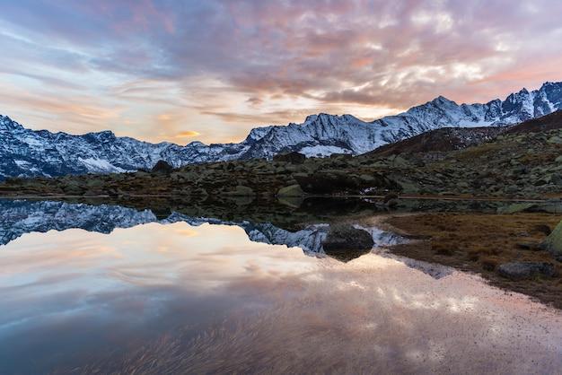 Montagnes rocheuses alpines